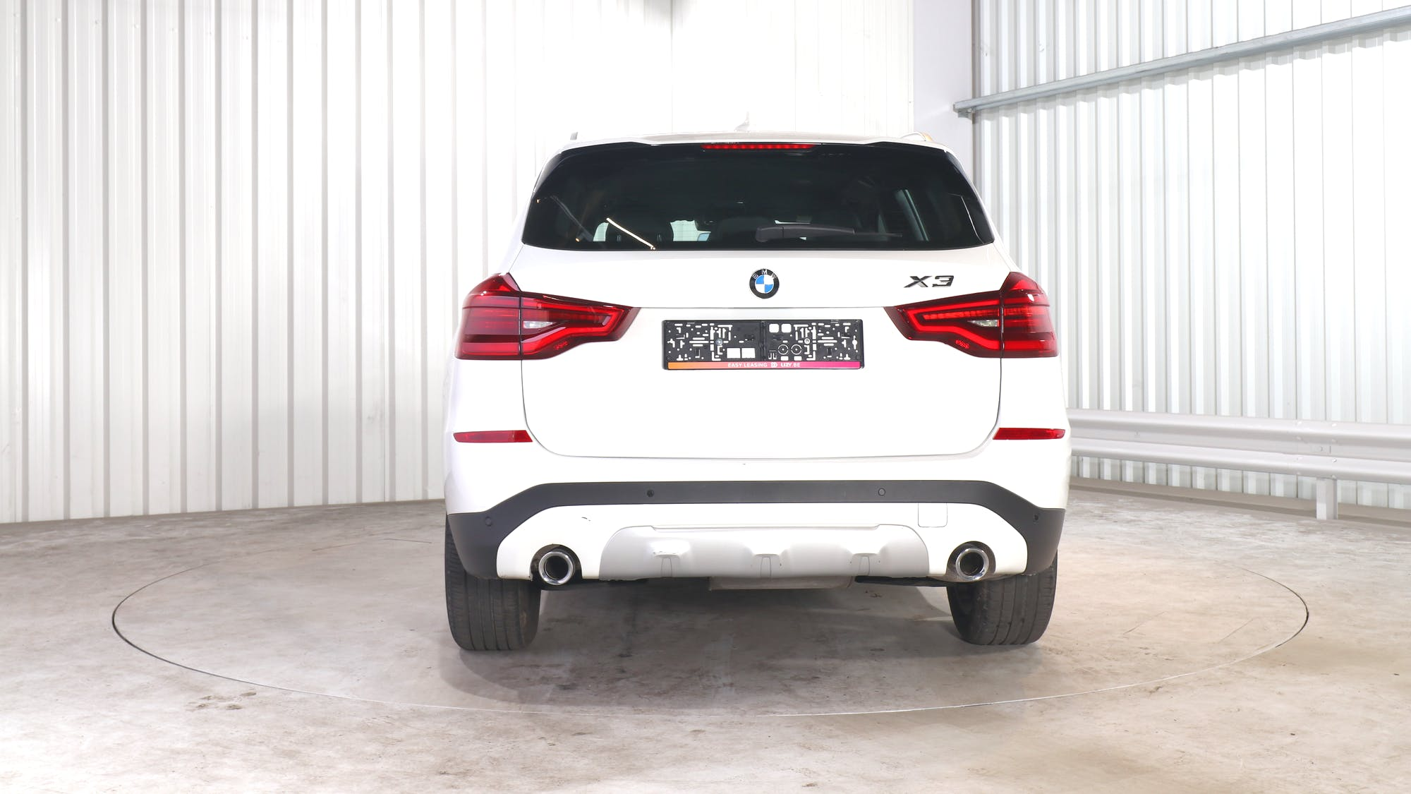 BMW X3 leasing exterior 5