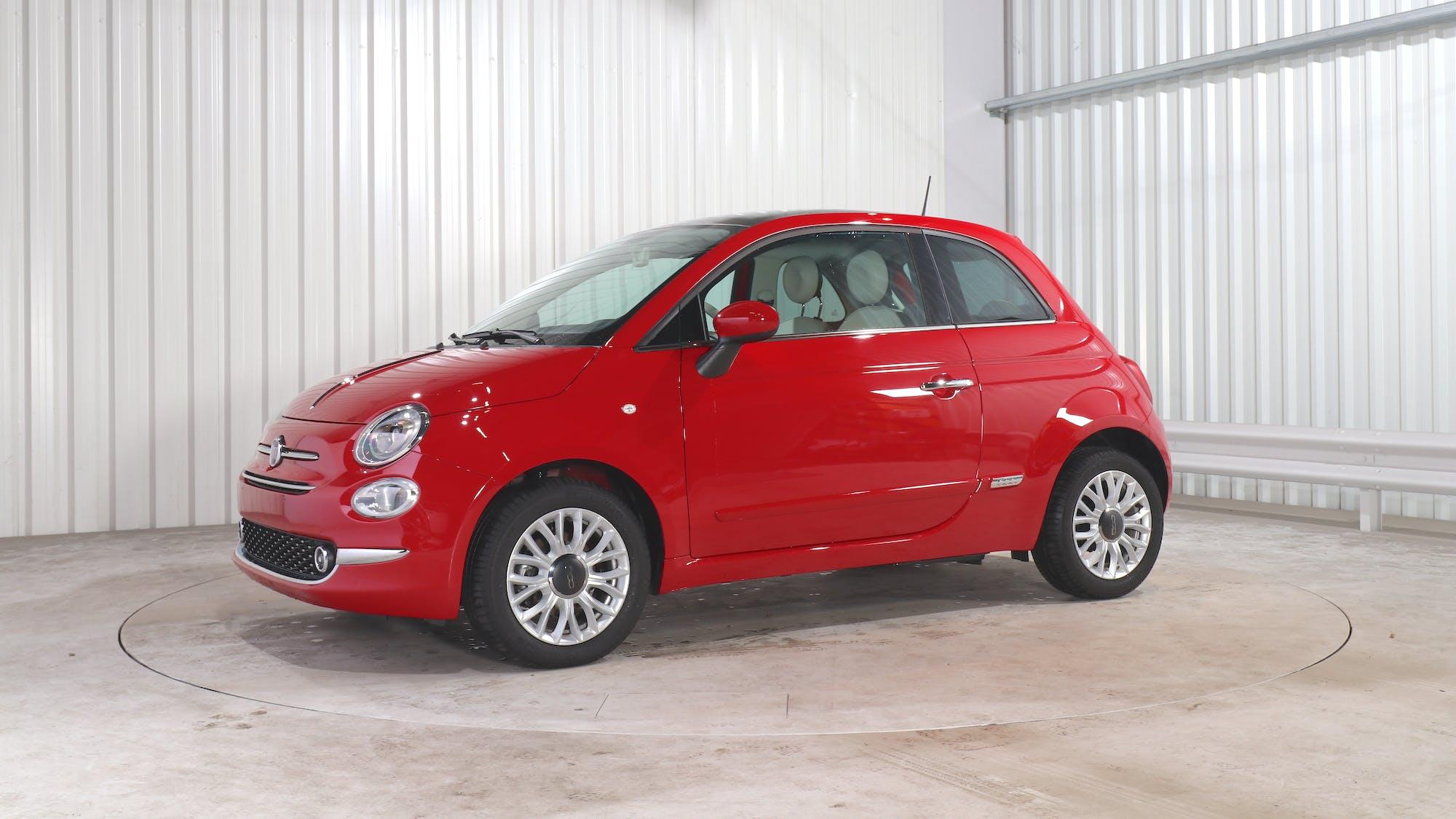 FIAT 500 leasing exterior 1
