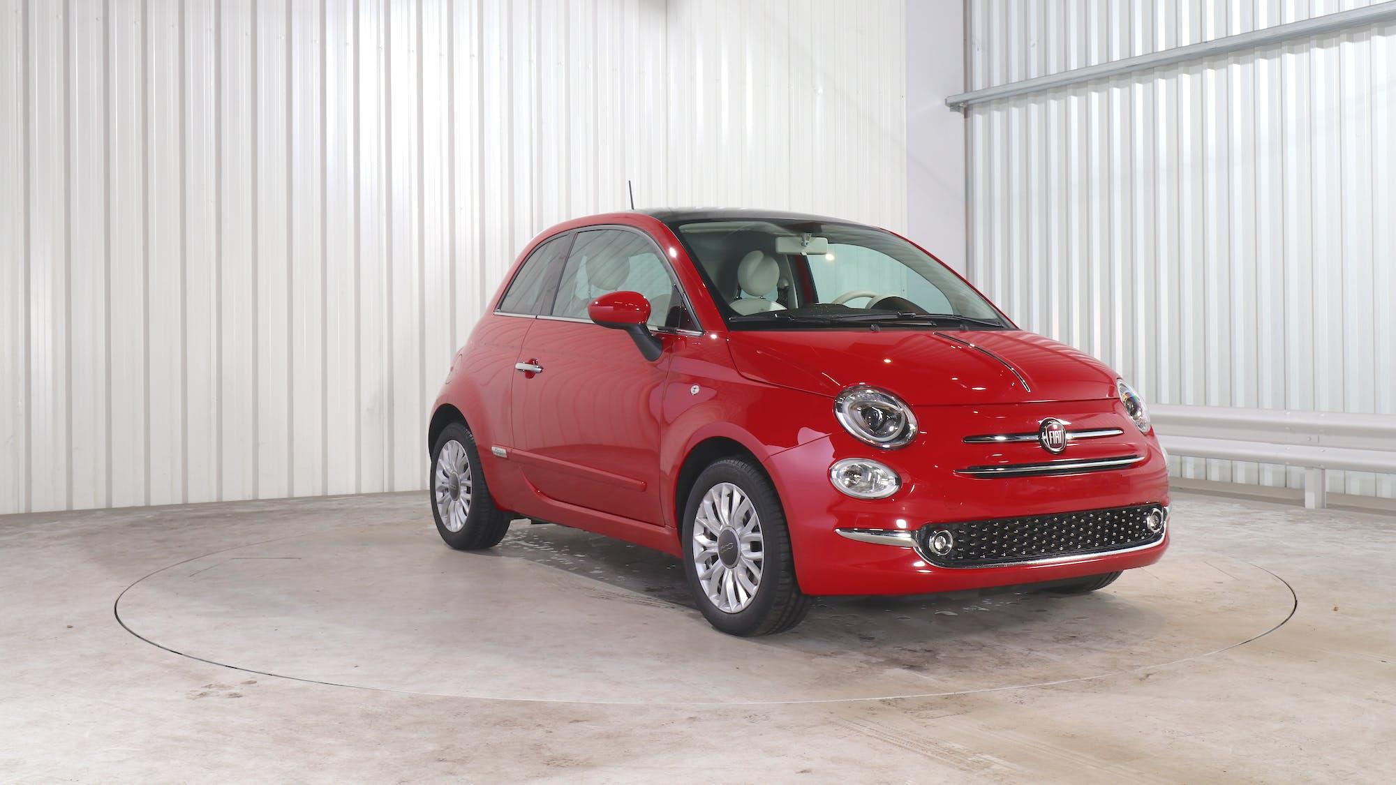 FIAT 500 leasing exterior 10